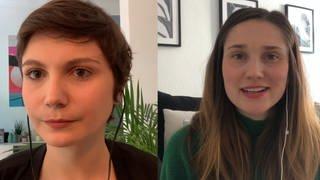 Zwei Frauen, die erzählen warum es so viele Corona-Verschwörungstheorien gibt (Foto: SWR)