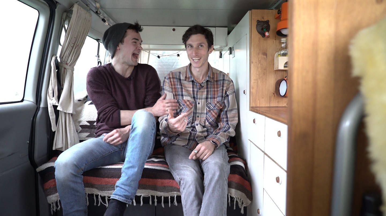 Mathis und Frank (Foto: SWR)