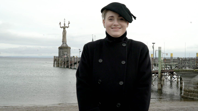 Sarah aus Konstanz ist Jüdin und Künstlerin (Foto: SWR)