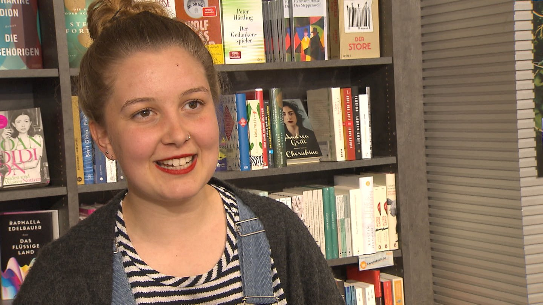 Buchhändlerin Jule aus Ravensburg (Foto: SWR)