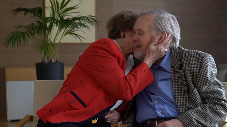Heide und Franz aus Meersburg haben die späte Liebe gefunden. (Foto: SWR)