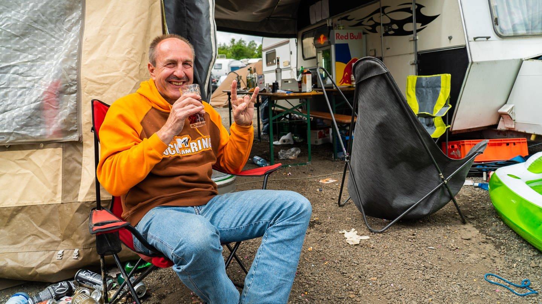 Ralf – seit 34 Jahren bei Rock am Ring dabei (Foto: SWR)