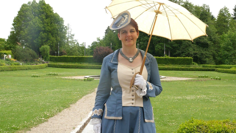 Cosplay: Frau in Sissikleidern (Foto: SWR)