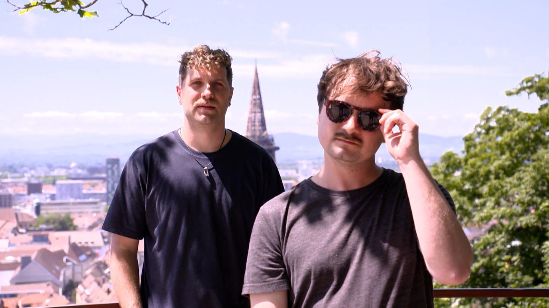 Pete und Bafti sind Mitglieder der Band OTTO NORMAL (Foto: SWR)