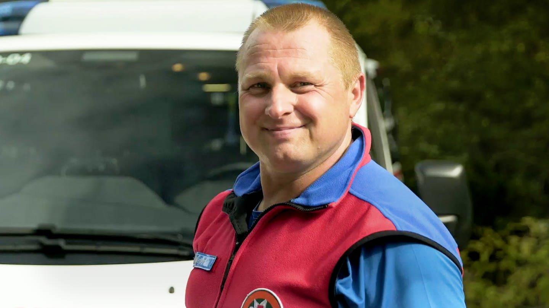 Thomas Meffert, Leiter der Bergwacht Rotenfels (Foto: SWR)