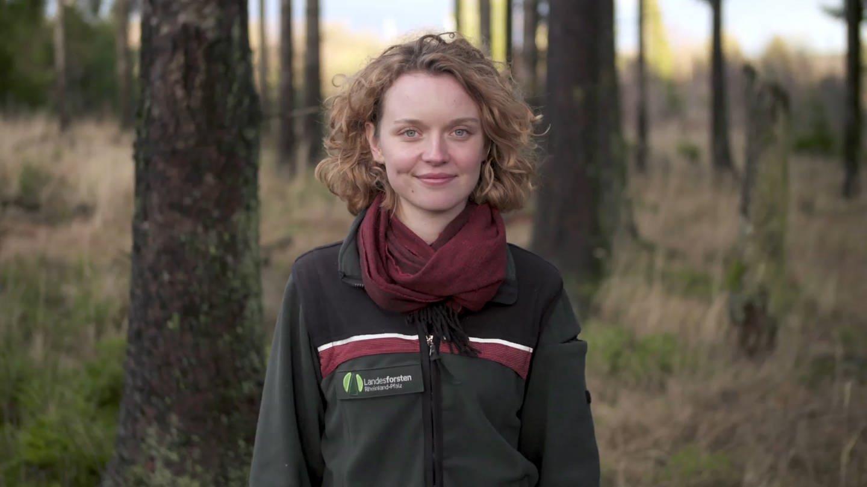Soonwald-Försterin Anne-Sophie Knop (Foto: SWR)