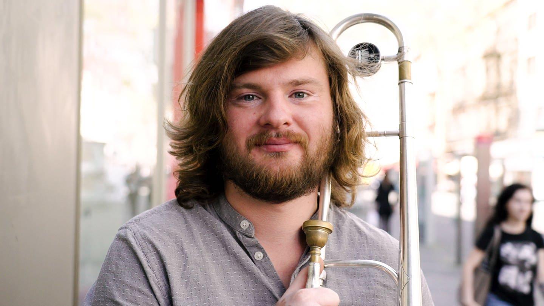 Jazzposaunist Piotr (Foto: SWR)