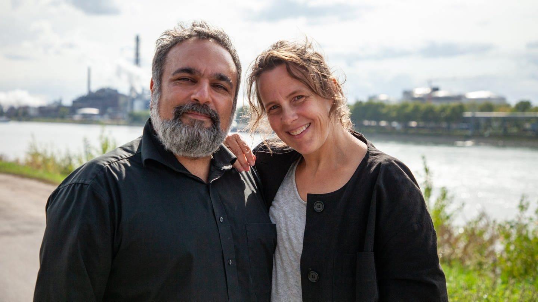 Mehrdad und Christina zeigen uns ihre liebsten Streetart-Werke in Mannheim (Foto: SWR)