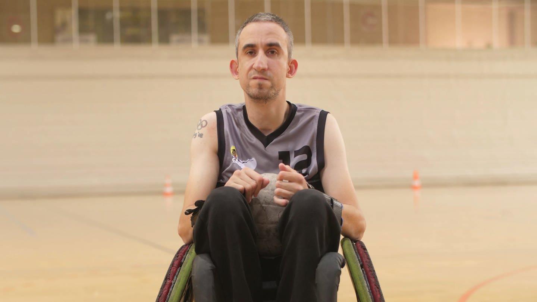 Rollstuhlrugby-Spieler Wolfgang Schmitt aus Koblenz (Foto: SWR)