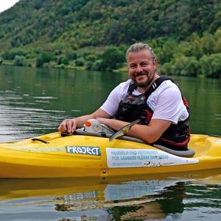 Stephan Horch macht unsere Flüsse sauber (Foto: SWR)