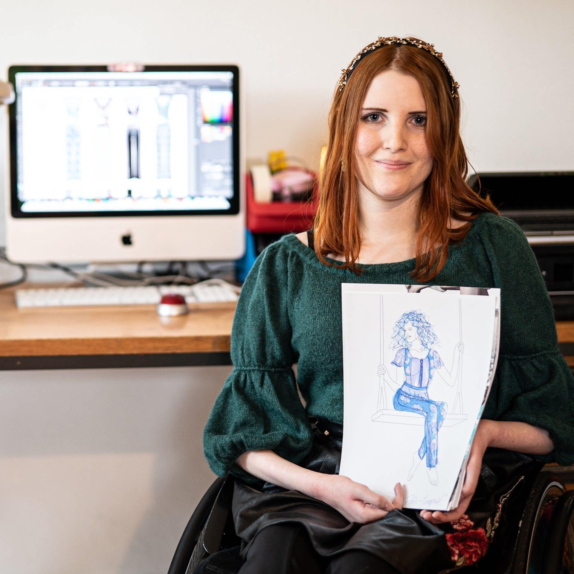Mode Fur Menschen Im Rollstuhl Mit Muskularer Erkrankung Swr Heimat