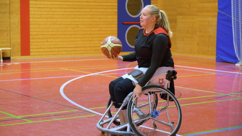 Lisas Freiheit der Rolli –  Ihr Sport Rollstuhlbasketball (Foto: SWR)