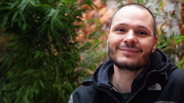 Marcus Kappel lebt im ESA-Wohnheim