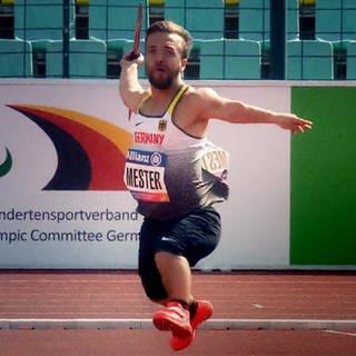 Mathias Mester ist Weltmeister im Speerwurf (Foto: SWR)