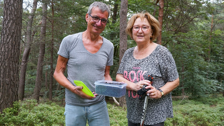 Beerenpfücken im Pfälzerwald (Foto: SWR)