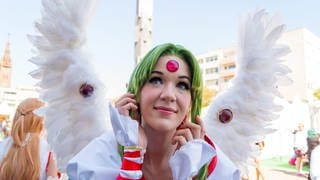 Hanami Convention in Ludwigshafen (Foto: SWR)