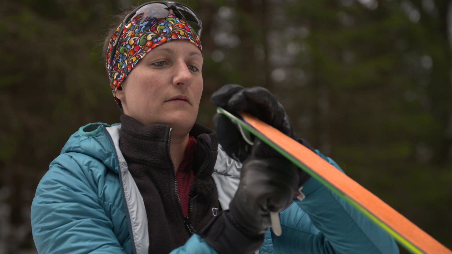 Jacqueline Fritz will eine Skitour gehen – mit einem Bein