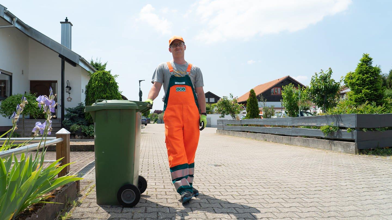 Manuel ist Müllmann (Foto: SWR)