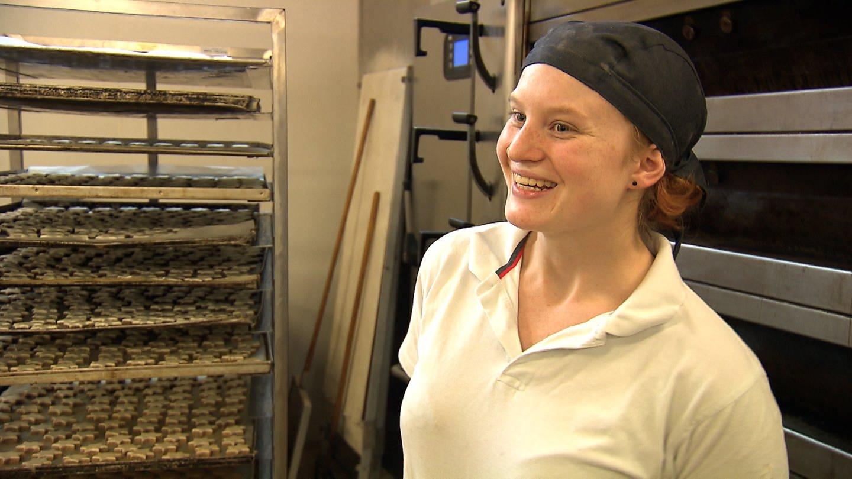 Sarah Benita Rohr ist Deutsche Meisterin der Bäckerjugend 2018 (Foto: SWR)