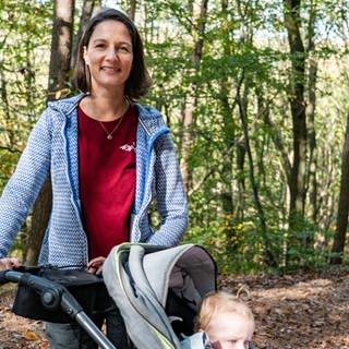 Wandern mit Kinderwagen (Foto: SWR)