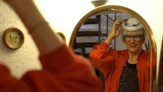 Jana Blume liebt Vintage-Mode (Foto: SWR)