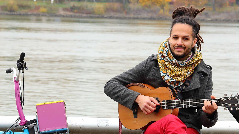 Imran Khan lebt in Mainz und macht Musik