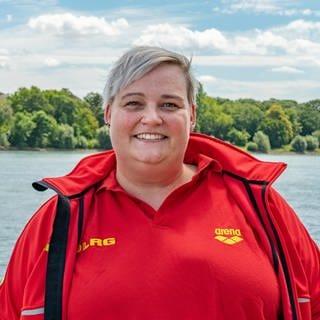 Janina Pfeiffelmann  von der DLRG Worms (Foto: SWR)