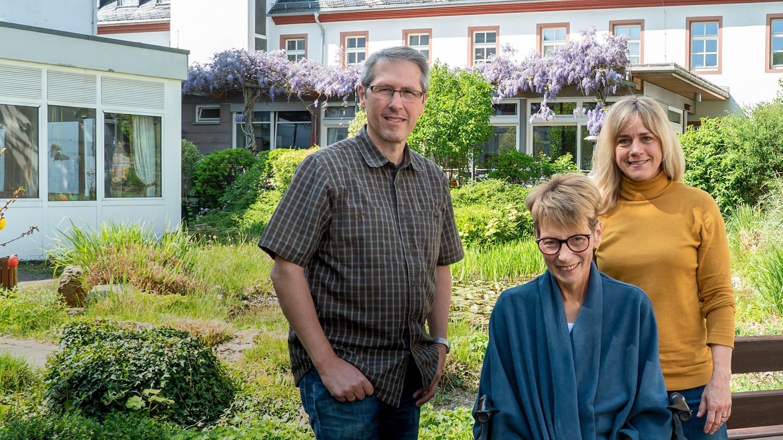 Das Christophorus-Hospiz in Mainz - ein Ort um würdevoll zu sterben. (Foto: SWR)