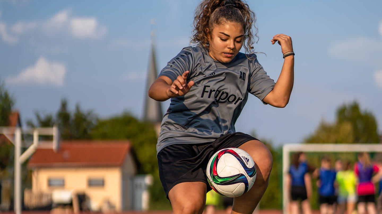 Gegen Voruteile im Frauenfußball (Foto: SWR)
