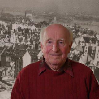 Max Brückner überlebte die Bombardierung von Mainz 1945 nur dank einer Warnung (Foto: SWR)