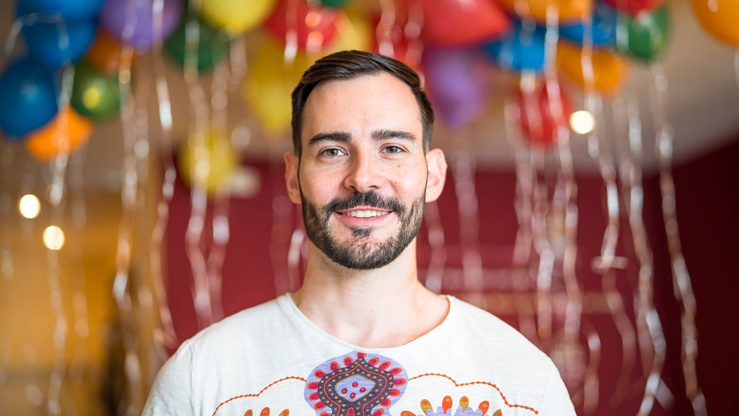 Mr. Gay Germany Enrique Doleschy (Foto: SWR)