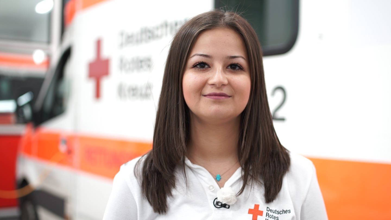 Notfallsanitäterin hat keine Angst vor Gewalt gegen Retter (Foto: SWR)
