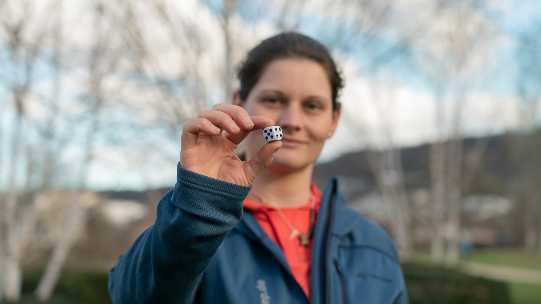 """""""Ich habe mein Hobby, Spielen, zum Beruf gemacht."""" Daniela Weidisch (29) aus Katzenbach (Foto: SWR)"""