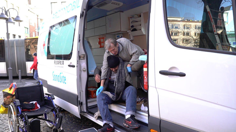 Street-Doc Gerhard Trabert (Foto: SWR)