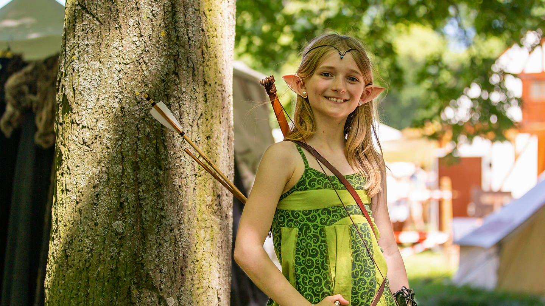 Zwischen Elfen, Trollen, Geistern und Hexern – Jens und Daniela lieben das Mittelalter (Foto: SWR)