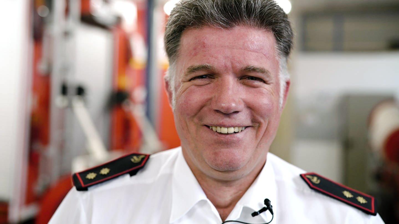 Feuerwehrmann Markus (Foto: SWR)