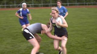Katharina spielt Rugby (Foto: SWR)