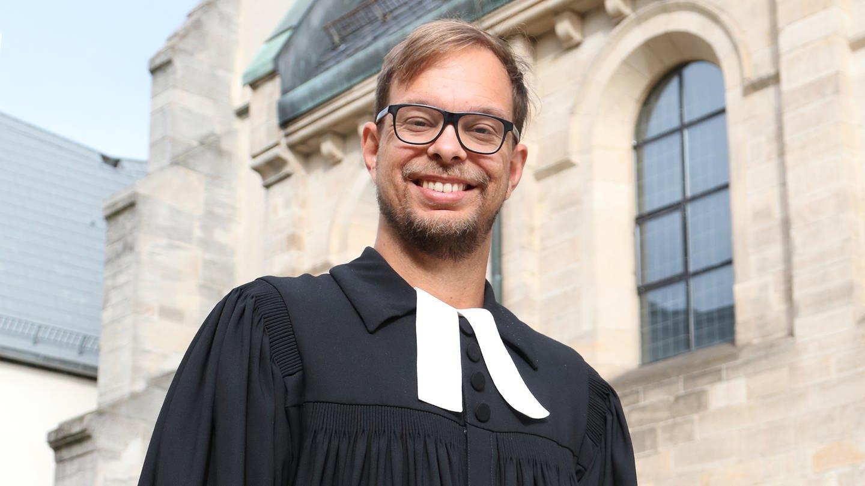 Pfarrer Nicolai aus Stuttgart (Foto: DASDING, SWR)