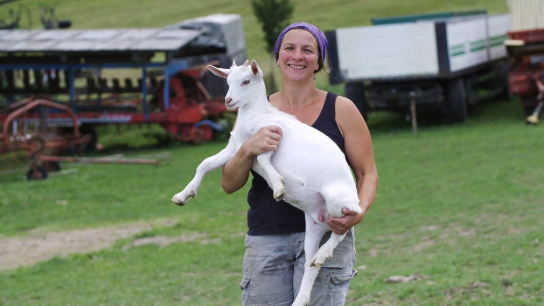Annette aus Uttenweiler ist Bio-Bäuerin (Foto: SWR)