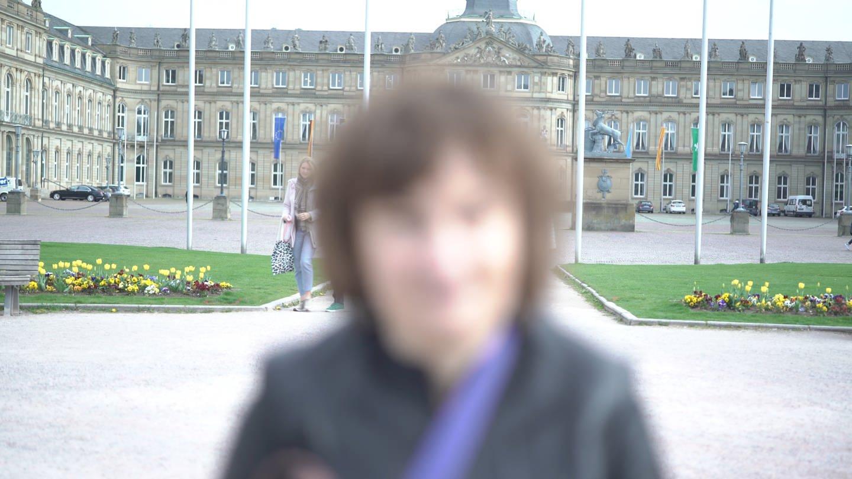 Binka, 48, Sozialarbeiterin aus Stuttgart. (Foto: SWR)