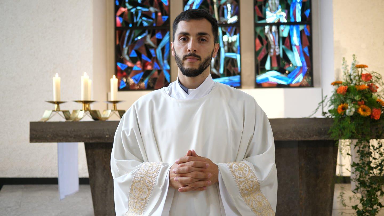 Branimir ist 28 und Diakon aus Neckartenzlingen (Foto: SWR)