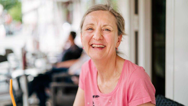 Christine aus Ditzingen war vorher 20 Jahre Büroassistentin. (Foto: SWR)