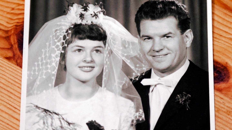 Hochzeitsfoto von Marlis und ihrem Mann (Foto: SWR)