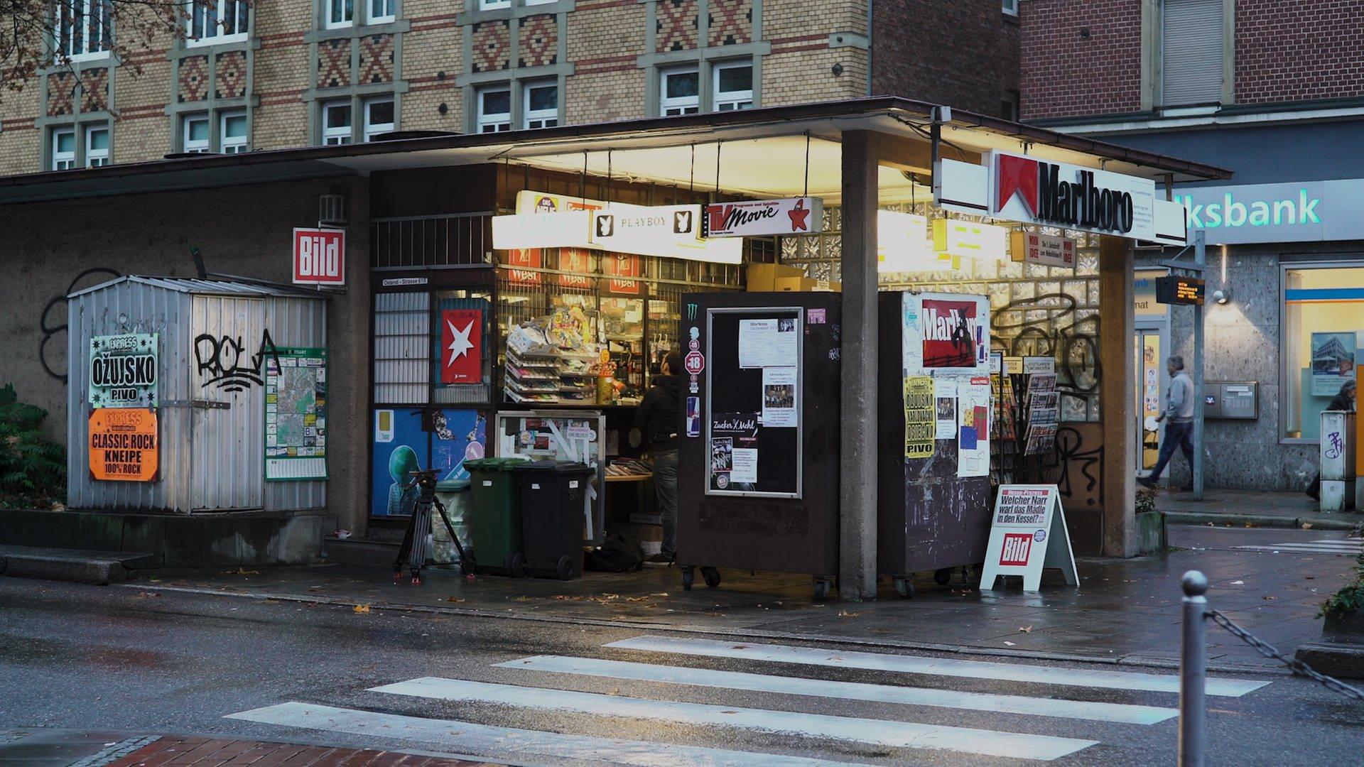Kiosk am Ostendplatz