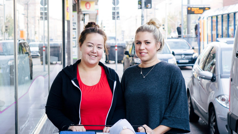 Laura und Cindy sind Erzieherinnen in Stuttgart (Foto: SWR)