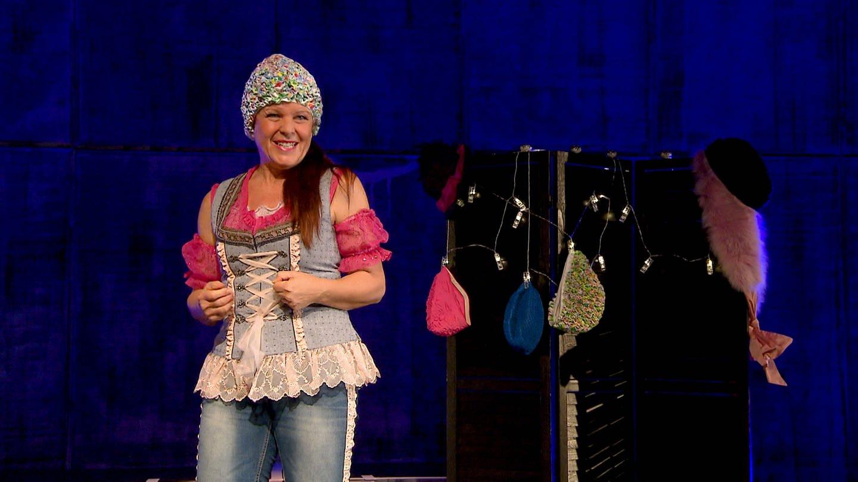 Sabine auf der Bühne (Foto: SWR)