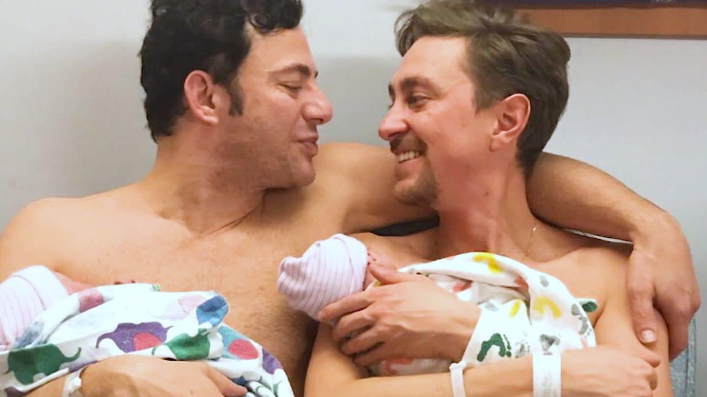 Zwei Väter mit ihren Kindern (Foto: SWR)