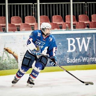 Paula auf dem Eishockeyfeld (Foto: SWR)