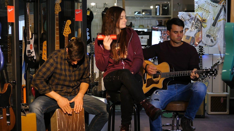 Band Leeeza musiziert (Foto: SWR)