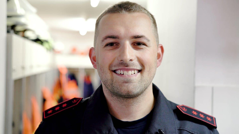 Feuerwehrmann Norman (Foto: SWR)